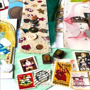 Other - Christmas Paper Pack 75+ Ephemera Scrapbook Craft